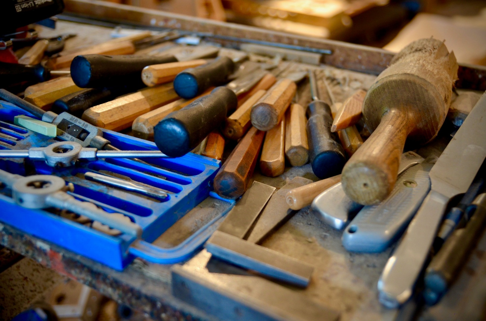 Tools at the workshop